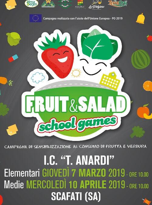 Fruit and Salad School Games